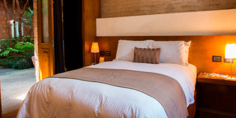 Twin beds junior suite Hotel Boutique Casa Madero